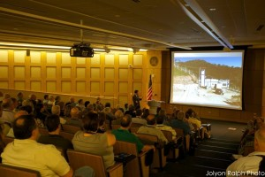 At the Dallas Mineral Collecting Symposium, over 200 guests listened to exciting mineral adventures from world experts.