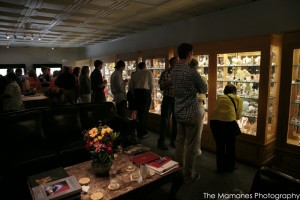 Guests at the Dallas Mineral Collecting Symposium spend an evening mineral-gazing at The Arkenstone Gallery