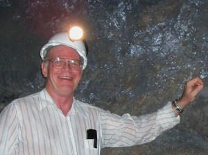 2014 Mineral Collecting Symposium Presenter Dr. Peter Megaw