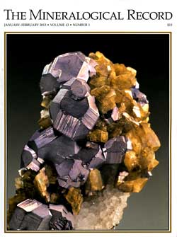 Mineralogical Record Volume 43 Number 1 highlighted the Dallas Mineral Collecting Symposium. A feature article was written by Tom Gressman covering the event.