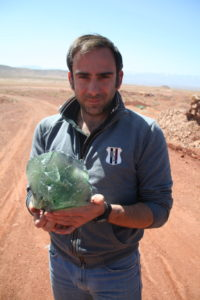 Dr Emanuele Marini, expert mineral lab scientist