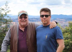 Monte Zajicek and Ray Zajicek - Emerald hunters!